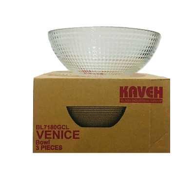 کاسه کاوه مدل VENICE کد1012 بسته 6 عددی