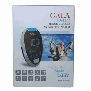 خرید دسـتگاه تست قند خـون GALA مـدل TD – ۴۲۷۷ GALA BLOOD GLUCOSE