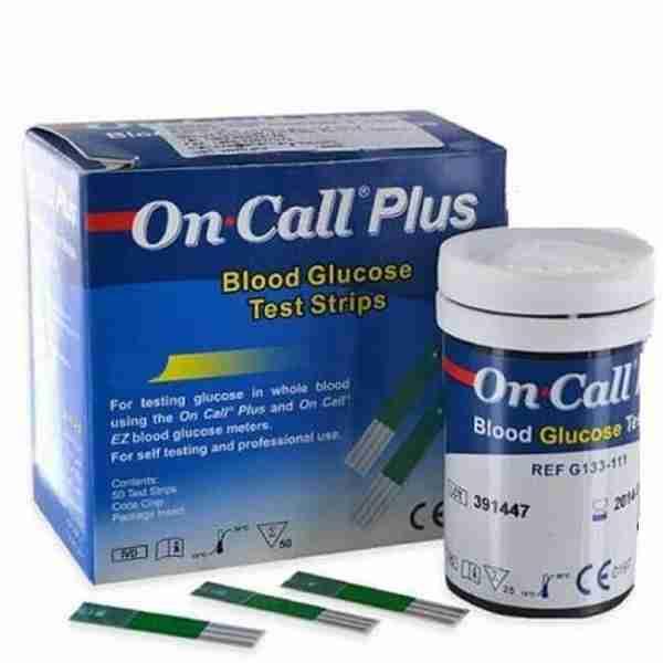 خرید نوار تست قند خون آن کال پلاس - کالای پزشکی لردشاپ|lordshop