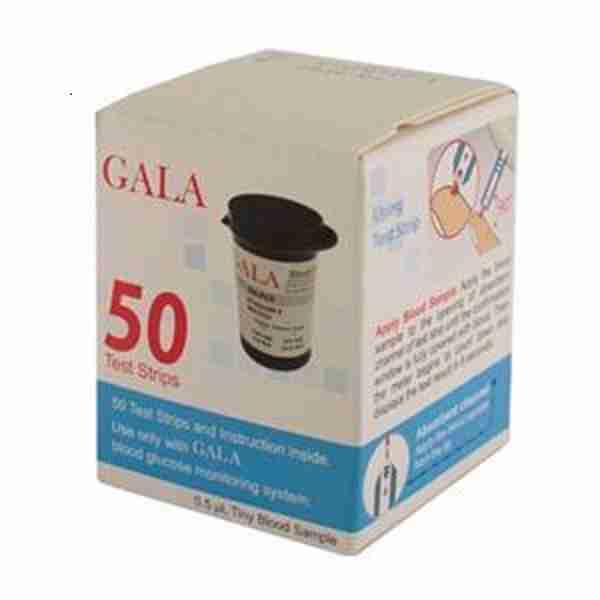 خرید نوار تست قند خون گالا - نوار قند خون GALA فروشگاه لردشاپ|lordshop