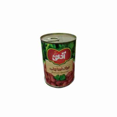 مشخصات,قیمت و خرید کنسرو خوراک لوبیا چیتی آدلی 400 گرمی - فروشگاه اینترنتی لردشاپ