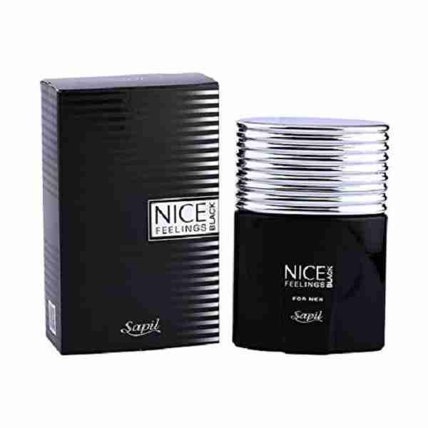 مشخصات,قیمت وخرید ادکلن مردانه SAPIL Nice Feelings Black - فروشگاه اینترنتی لردشاپ