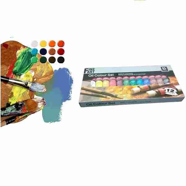 خرید رنگ روغن آرت نیشن مدل FineArt _رنگ روغن های فروشگاه لردشاپ|lordshop